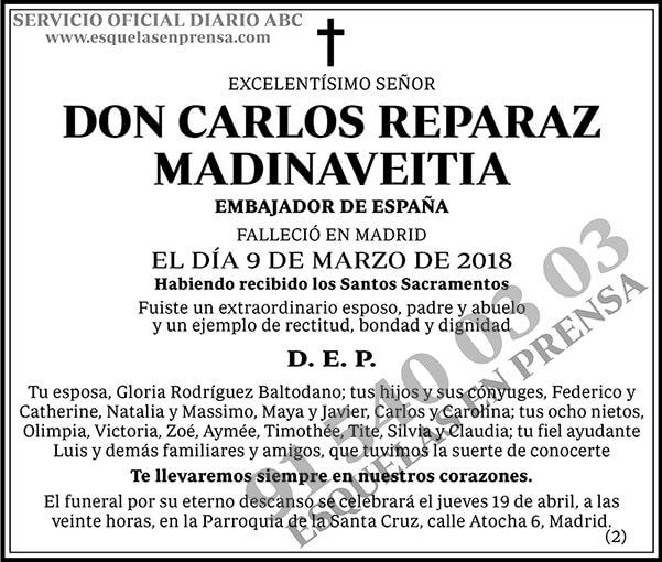 Carlos Reparaz Madinaveitia